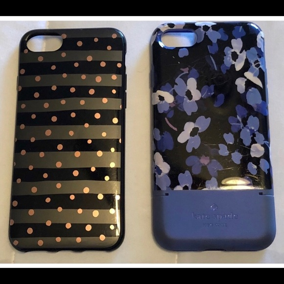new style 66f3c 9824c Kate Spade iPhone 8 Case with Credit Card Holder